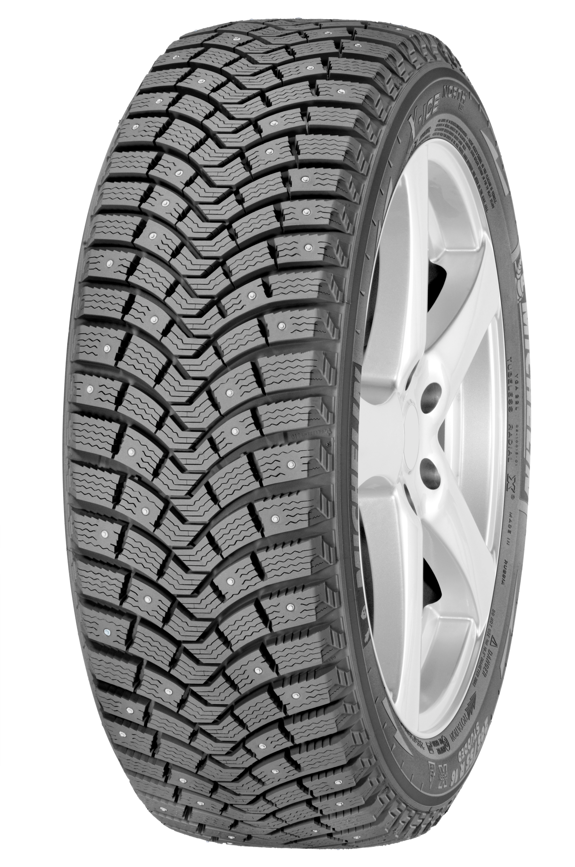 MICHELIN X-ICE North-2 205/55R16 94T XL шип