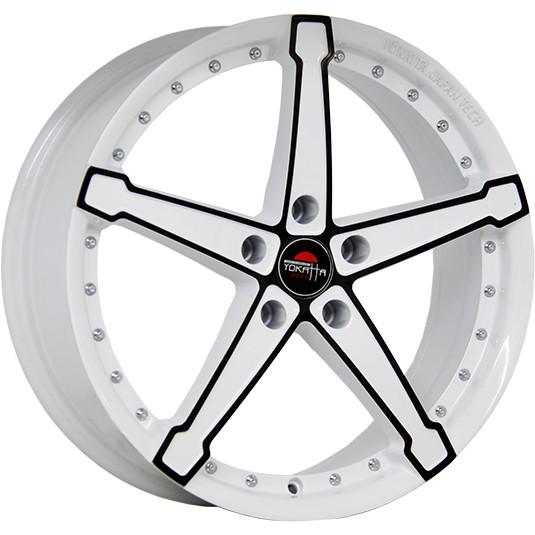 YOKATTA MODEL-10 6x15/5x105 ET39 D56.6 W+B