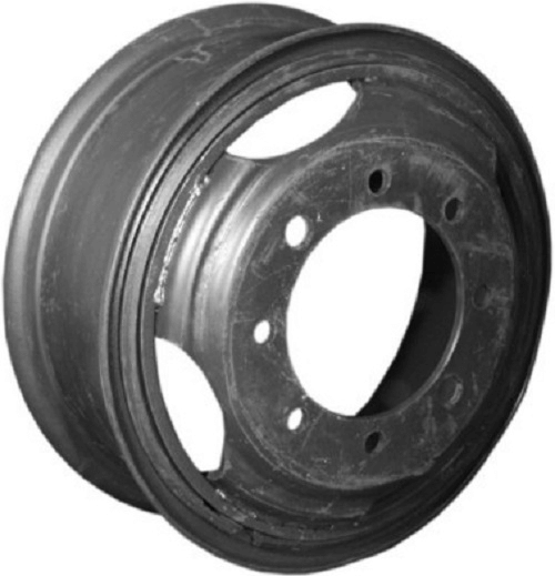 Колесо дисковое MEFRO (Accuride)  7,0-20 8/275 d221 ET155 Black б/футор ЗИЛ-4331, КАМАЗ-53205