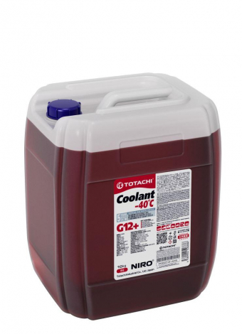 Антифриз TOTACHI NIRO Coolant Red -40C  G12+  10кг
