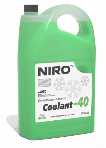 Антифриз TOTACHI NIRO Coolant Green -40C   5кг