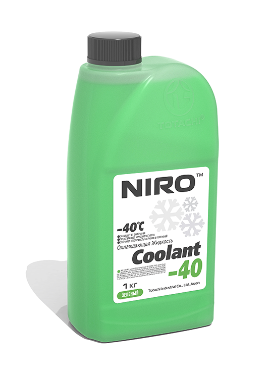 Антифриз TOTACHI NIRO Coolant Green -40C   1кг